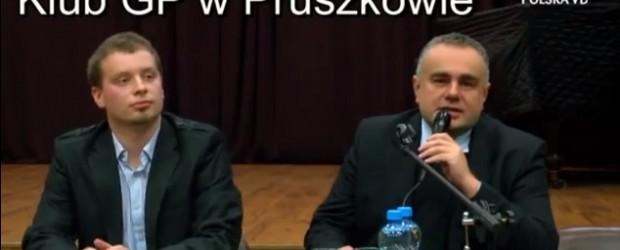 Platformę można zdelegalizować – Tomasz Sakiewicz w Pruszkowie (wideo)