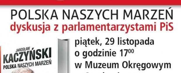 """Sandomierz – projekcja filmu dokumentalnego pt; """"Lider"""", 29 listopada, g. 17 oraz spotkanie w Gorzycach."""
