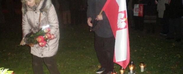 Gdańsk – 10 listopada 2013 r. – 43 miesiące po Tragedii Smoleńskiej