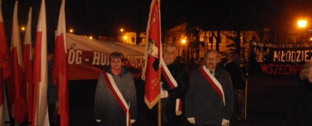 VIII Młodzieżowy Marsz Niepodległości w 95 Rocznicę Niepodległości Polski 11.11.2013 r. w Suwałkach