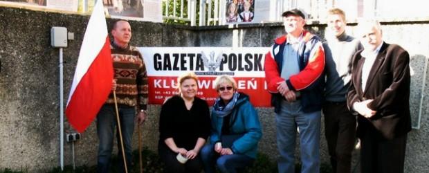 """10 listopada 2013 r. – prezentacja wystawy """"Warto być Polakiem"""" w Wiedniu."""