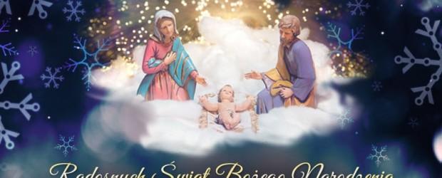 Busko-Zdrój – Radosnych Świąt Bożego Narodzenia.