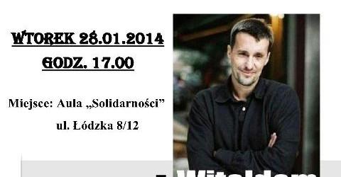 Częstochowa – spotkanie z Witoldem Gadowskim, 28 stycznia, g. 17…