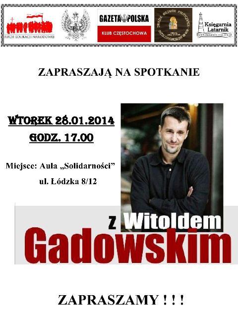 Czestochowa_Gadowski_plakat