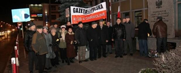 Garwolin  – 10 grudnia 2013 r. – 44 miesiące po Tragedii Smoleńskiej.