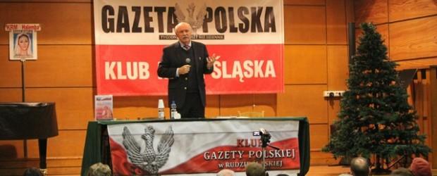 Cztery filary Polskości – spotkanie z prof. Piotrem Jaroszyńskim w Rudzie Śl.