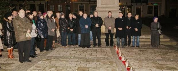 Uroczystości upamiętniające Ofiary stanu wojennego w Sandomierzu (wideo)