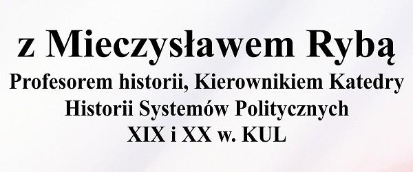 Włodawa –  spotkanie z prof. Mieczysławem Rybą, 13 grudnia, g. 18…