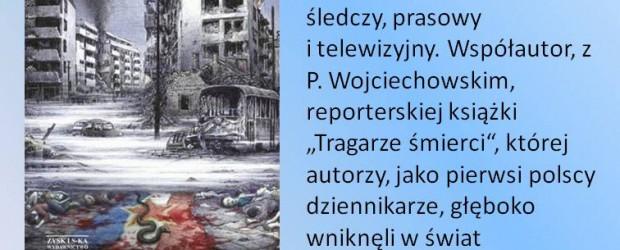 """Berlin –  spotkanie z Witoldem Gadowskim połączone z promocją książki """"Smak wojny"""", 9 lutego, g. 13.30"""