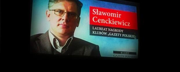 Laudacja –  prof. Sławomir Cenckiewicz – Człowiek Roku Klubów Gazety Polskiej
