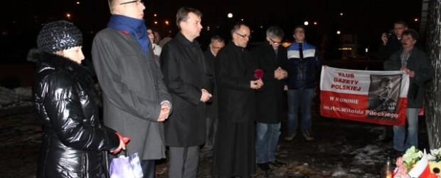 Szef Klubu Parlamentarnego PiS Mariusz Błaszczak w Koninie