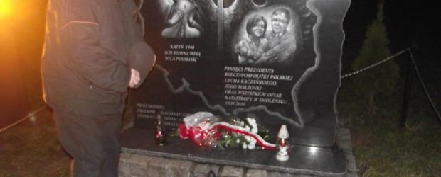 Stegna Gd. – 10 stycznia 2014 r. – 45 miesięcy po Tragedii Smoleńskiej