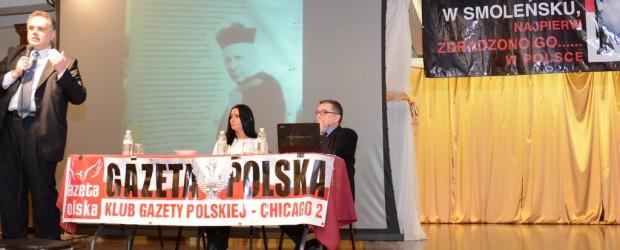 Spotkanie T. Sakiewicza, R. Kapuścińskiego i P. Piekarczyka w Chicago (wideo)