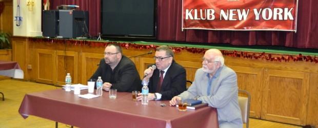 Ryszard Kapuściński oraz Paweł Piekarczyk w USA