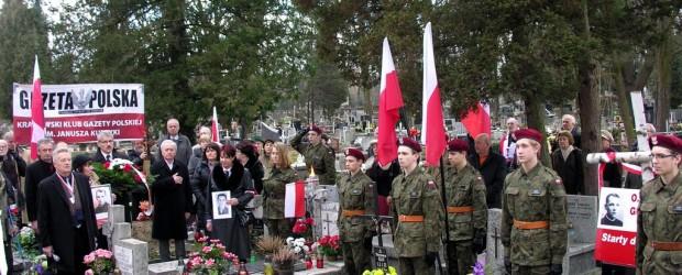 Narodowy Dzień Żołnierzy Wyklętych-uroczystości w Krakowie (wideo)