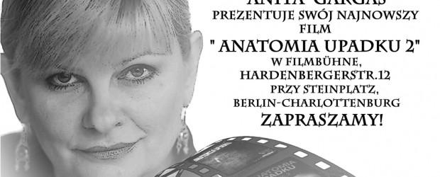 """Berlin – spotkanie z red. Anitą Gargas połączone z projekcją filmu """"Anatomia upadku cz. 2"""", 17 maja"""