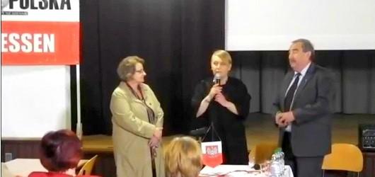 Maria Dłużewska i Andrzej Melak w Essen (wideo)