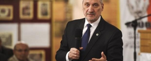 Starogard Gd. – Zaproszenie na spotkanie z ministrem Antonim Macierewiczem