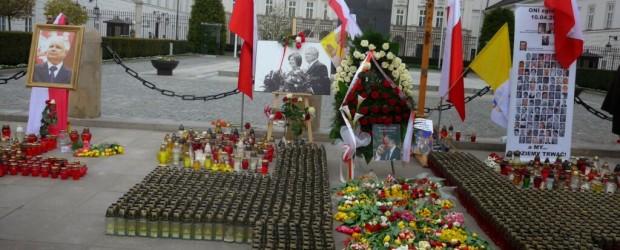 Uroczystości IV Rocznicy Katastrofy nad Smoleńskiem w Warszawie