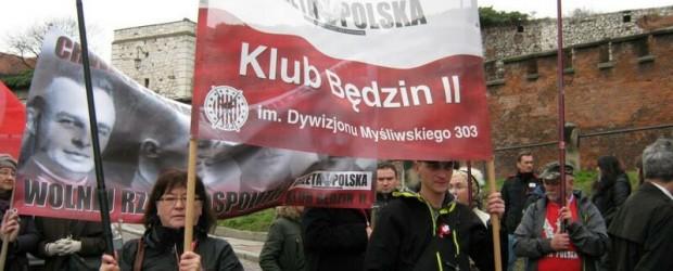Będzin II – Uroczystości 11 listopada 2013 w Krakowie