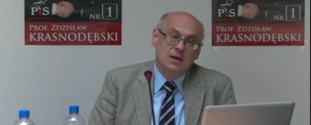 Berlin – spotkanie z prof. Zdzisławem Krasnodębskim (wideo)