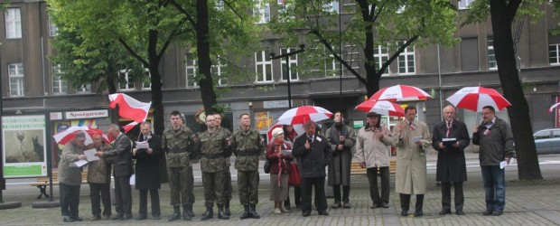 Obchody święta 3 maja w Gliwicach