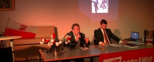 Pułkownik Ryszard Kuklińsk, samotny bohater – spotkanie w Hamburgu (wideo)