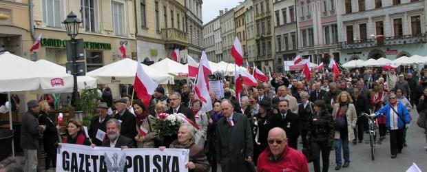 Święto 3 Maja. Uroczystości w Krakowie (wideo)