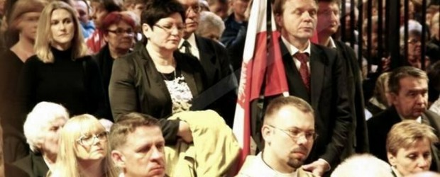 Uroczyste odsłonięcie i poświęcenie Tablicy Ofiar Obławy Augustowskiej w Kaplicy Matki Boskiej Jasnogórskiej w Częstochowie 3.05.2014 r