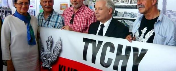 W drodze po niedzielne zwycięstwo – relacja z wizyty Jarosława Kaczyńskiego w Katowicach