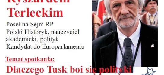 Andrychów, Busko-Zdrój – spotkanie z Prof. Ryszardem Terleckim, 16 maja