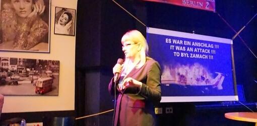 Anita Gargas w Berlinie