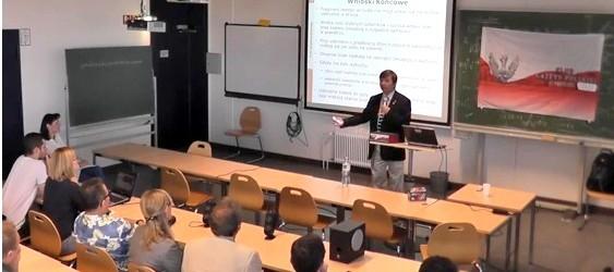 Prof. Wiesław Binienda w Hamburgu i Berlinie  (wideo, audio)