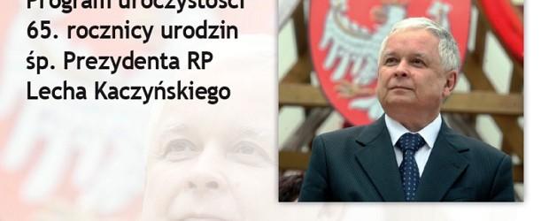 65. rocznica urodzin śp. Prezydenta Lecha Kaczyńskiego – Zaproszenie (wideo)