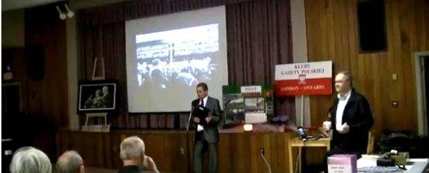 4-ta rocznica Tragedii Smoleńskiej w London Ontario (wideo)