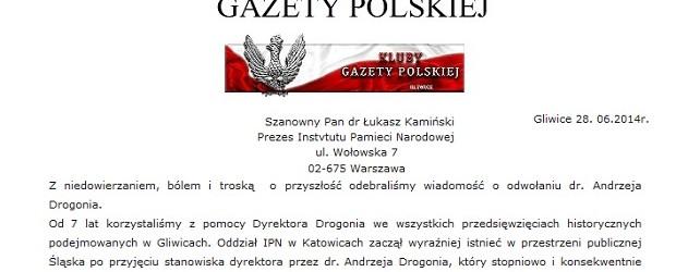 """[Tydzień w Klubach """"GP""""] Kneblowanie IPN-u?"""