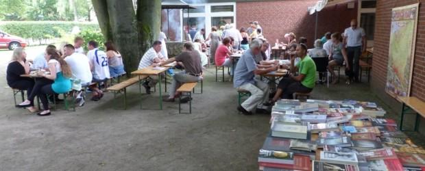 Spotkanie przy grillu w Hamburgu