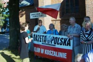 Koszalin – 87 miesięcznica tragedii smoleńskiej, 10 lipca