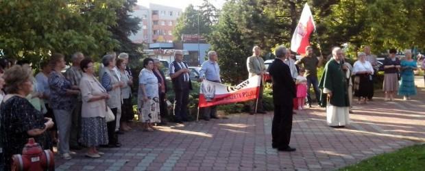 Miesięcznica Tragedii Smoleńskiej – 10 lipca 2014r. w Tychach