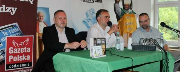 Spotkanie z Tomaszem Sakiewiczem w Zgierzu