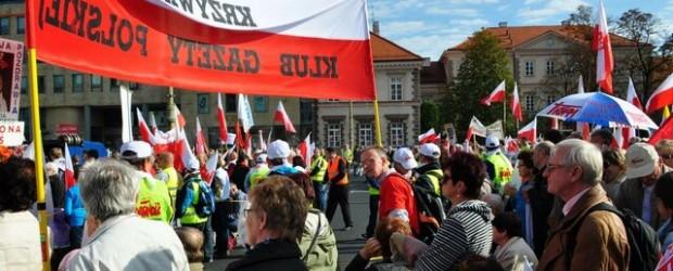 """Marsz """"W obronie wolnych mediów"""""""
