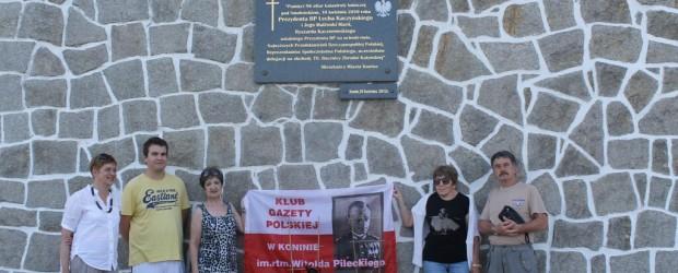 50 miesięcznica tragedii smoleńskiej – Konin II