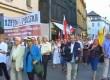 """""""PO niszczy patriotyzm"""". Manifestacja KPN w Krakowie (wideo)"""