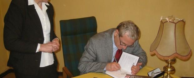 Spotkanie z ambasadorem RP w Budapeszcie Grzegorzem Łubczykiem