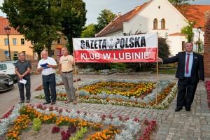 Lubin 10.sierpnia.2014 r. Obchody 52 miesięcznicy tragedii smoleńskiej
