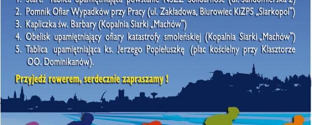 II Rajd Solidarności i Wolności ulicami Tarnobrzega