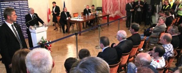 Otwarte spotkanie z Premierem Jarosławem Kaczyńskim (wideo)