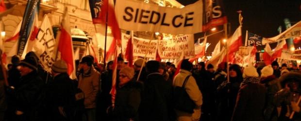 II Marszu Wolności, Solidarności i Niepodległości w Warszawie dnia 13 grudnia 2012 r.