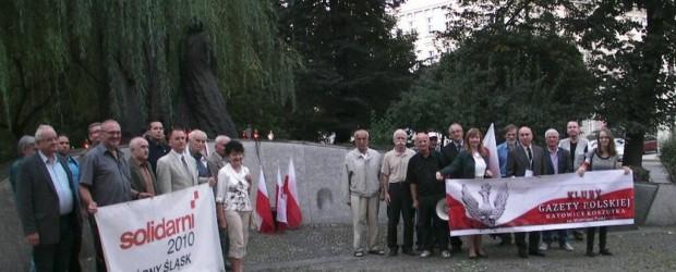 """""""Im wszystkim składamy dziś hołd""""- sprawozdanie z uroczystości zorganizowanych w Katowicach dnia 17.09.2014roku. (wideo)"""