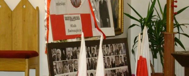 53. miesięcznica tragedii smoleńskiej w Świnoujściu